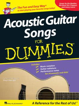 Acoustic Guitar Songs for Dummies (HL-00699767)