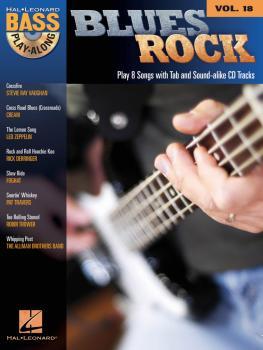 Blues Rock: Bass Play-Along Volume 18 (HL-00699828)