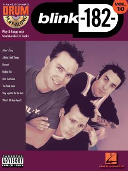 blink-182: Drum Play-Along Volume 10 (HL-00699834)