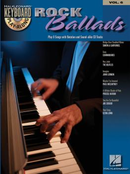 Rock Ballads: Keyboard Play-Along Volume 6 (HL-00699880)