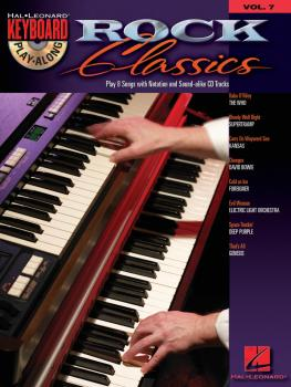 Rock Classics: Keyboard Play-Along Volume 7 (HL-00699881)