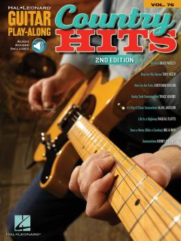 Country Hits: Guitar Play-Along Volume 76 (HL-00699884)