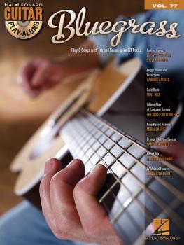 Bluegrass: Guitar Play-Along Volume 77 (HL-00699910)