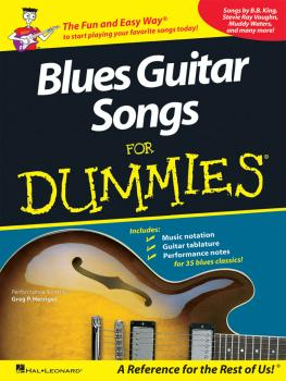 Blues Guitar Songs for Dummies (HL-00699925)