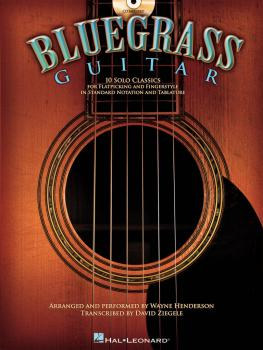 Bluegrass Guitar (10 Solo Classics) (HL-00700184)