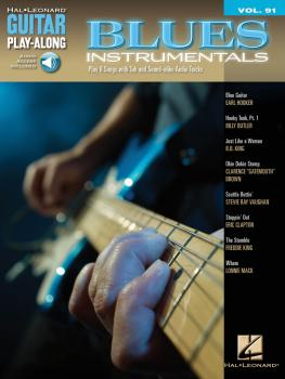 Blues Instrumentals: Guitar Play-Along Volume 91 (HL-00700505)