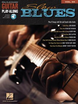 Slow Blues: Guitar Play-Along Volume 94 (HL-00700508)