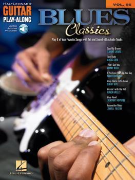 Blue Classics: Guitar Play-Along Volume 95 (HL-00700509)