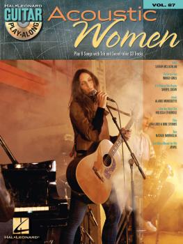 Acoustic Women: Guitar Play-Along Volume 87 (HL-00700763)