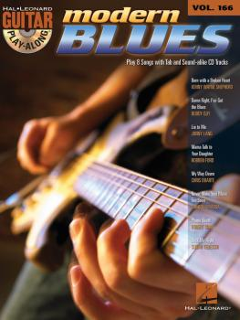 Modern Blues: Guitar Play-Along Volume 166 (HL-00700764)
