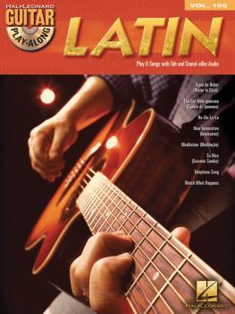 Latin: Guitar Play-Along Volume 105 (HL-00700939)
