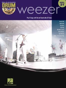 Weezer: Drum Play-Along Volume 21 (HL-00700959)