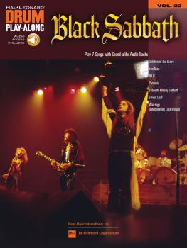 Black Sabbath: Drum Play-Along Volume 22 (HL-00701190)