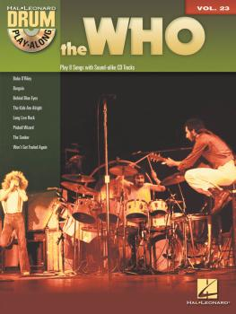 The Who: Drum Play-Along Volume 23 (HL-00701191)
