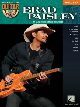 Brad Paisley: Guitar Play-Along Volume 117 (HL-00701224)