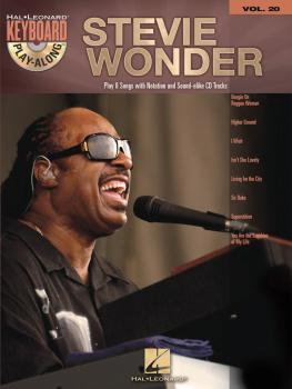 Stevie Wonder: Keyboard Play-Along Volume 20 (HL-00701262)