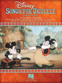 Disney Songs for Ukulele (HL-00701708)