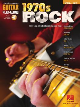 1970s Rock: Guitar Play-Along Volume 127 (HL-00701739)
