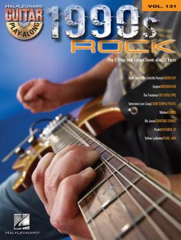1990s Rock: Guitar Play-Along Volume 131 (HL-00701743)