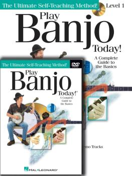 Play Banjo Today! Beginner's Pack: Level 1 Book/CD/DVD Pack (HL-00701873)
