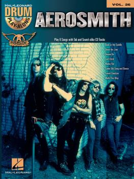 Aerosmith: Drum Play-Along Volume 26 (HL-00701887)