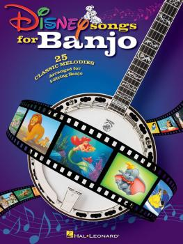 Disney Songs for Banjo (HL-00701901)