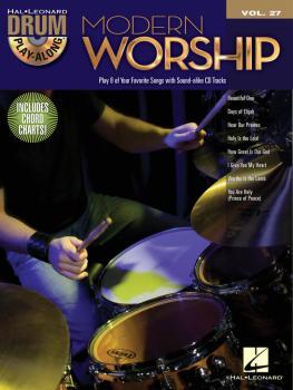 Modern Worship: Drum Play-Along Volume 27 (HL-00701921)