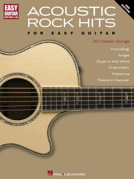 Acoustic Rock Hits for Easy Guitar - 2nd Edition (HL-00702002)