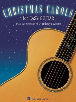 Christmas Carols for Easy Guitar (HL-00702221)