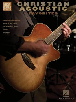 Christian Acoustic Favorites: Easy Guitar with Notes & Tab (HL-00702237)