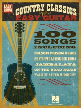 Country Classics for Easy Guitar (HL-00702239)