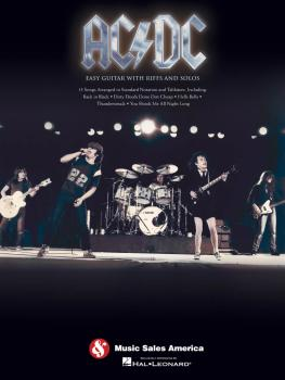 AC/DC: Easy Guitar with Riffs and Solos (HL-00702267)