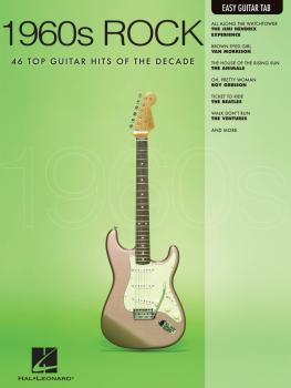 1960s Rock: Easy Guitar with Notes & Tab (HL-00702271)