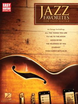 Jazz Favorites for Easy Guitar: Easy Guitar with Notes & Tab (HL-00702275)