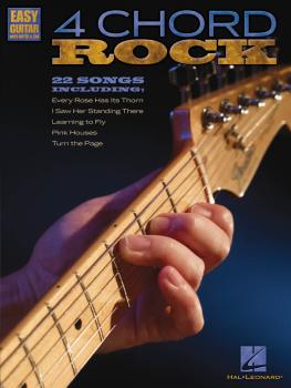 4 Chord Rock: Easy Guitar with Notes & Tab (HL-00702281)