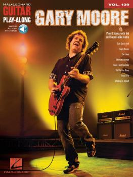 Gary Moore: Guitar Play-Along Volume 139 (HL-00702370)