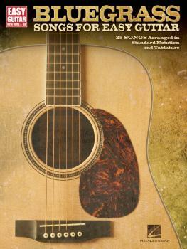 Bluegrass Songs for Easy Guitar (HL-00702394)
