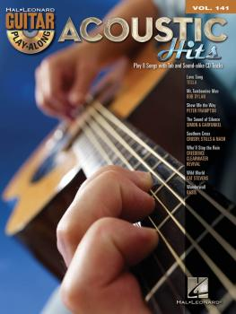 Acoustic Hits: Guitar Play-Along Volume 141 (HL-00702401)