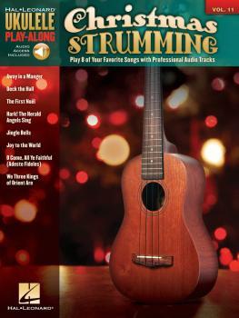 Christmas Strumming: Ukulele Play-Along Volume 11 (HL-00702458)