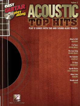 Acoustic Top Hits: Easy Guitar Play-Along Volume 2 (HL-00702569)