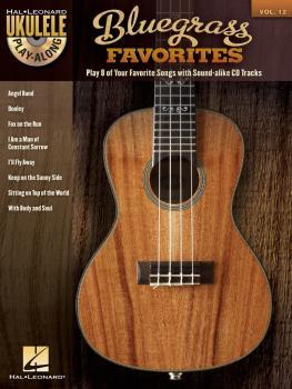 Bluegrass Favorites: Ukulele Play-Along Volume 12 (HL-00702584)