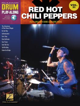 Red Hot Chili Peppers: Drum Play-Along Volume 31 (HL-00702992)