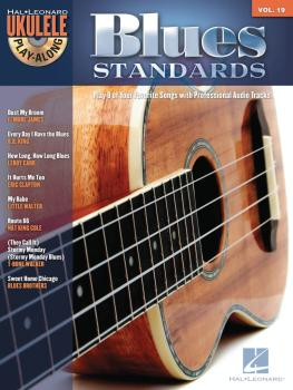 Blues Standards: Ukulele Play-Along Volume 19 (HL-00703087)