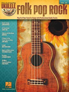 Folk Pop Rock: Ukulele Play-Along Volume 20 (HL-00703088)