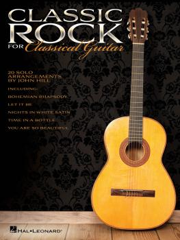 Classic Rock for Classical Guitar (HL-00703633)