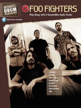 Foo Fighters: Ultimate Drum Play-Along Book/2-CD Pack (HL-00704138)