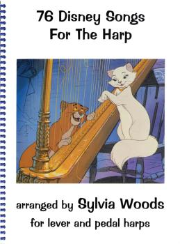76 Disney Songs for the Harp (HL-00720000)