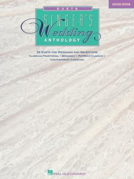 Singer's Wedding Anthology - Revised Edition (32 Duets) (HL-00740005)