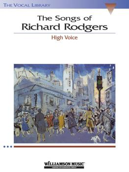 The Songs of Richard Rodgers (High Voice) (HL-00740166)