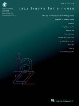 Jazz Tracks for Singers - Men's Edition: Book/Audio with Jazz Trio Tra (HL-00740243)